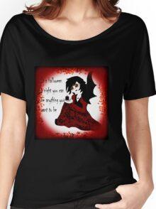 Anime Vampiress Women's Relaxed Fit T-Shirt