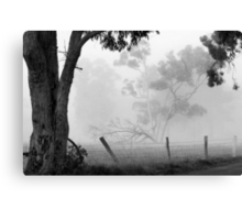 Favourite View - Fog Canvas Print
