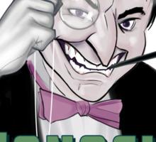 Monocle Smile Sticker