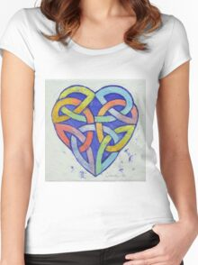 Endless Rainbow Women's Fitted Scoop T-Shirt