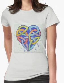 Endless Rainbow Womens Fitted T-Shirt