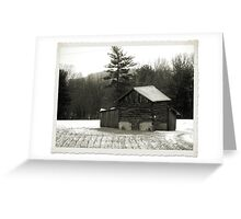 Pilgram's Snow Greeting Card