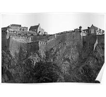 Edinburgh Castle Scotland Poster