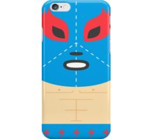 Mexican Luchador Square Friends iPhone Case/Skin