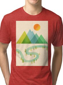 Bend in the River Tri-blend T-Shirt