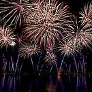 Geneva Switzerland Fireworks 2010 by David Freeman