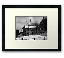 Mansion of Old Framed Print