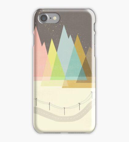 Highway Under Stars iPhone Case/Skin