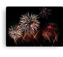 Fireworks 12 Canvas Print