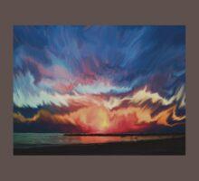 Amazing sunset One Piece - Short Sleeve