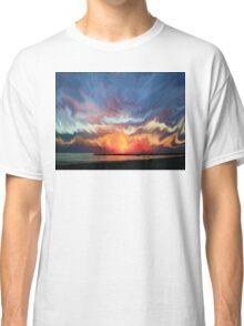 Amazing sunset Classic T-Shirt