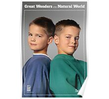 Great Wonders of the Natural World: TWINS Poster