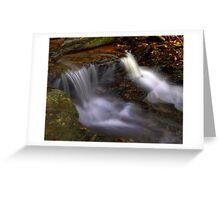 Cascades Greeting Card