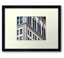 The City #2 Framed Print