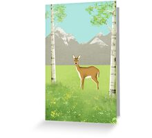 Alpine Meadow Greeting Card