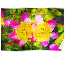 Oregon Flowers Poster