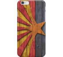 Vintage Distressed Flag of Arizona  iPhone Case/Skin
