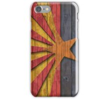 Vintage Distressed Flag of Arizona  iPhone Case/Skin