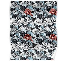 fantastic abstract pattern Poster