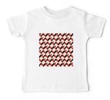 3d cube pattern - geometric design -seamless Baby Tee