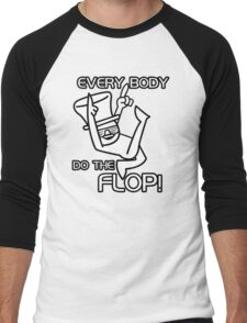 Do The Flop Funny Humour T-Shirt & Hoodie Men's Baseball ¾ T-Shirt