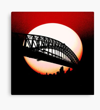 Dreams of Sydney Canvas Print