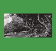 Landscape - The Forbidden Forest Kids Tee