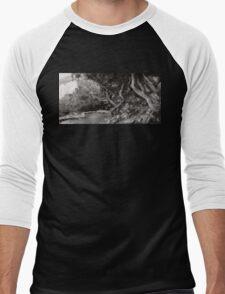 Landscape - The Forbidden Forest Men's Baseball ¾ T-Shirt