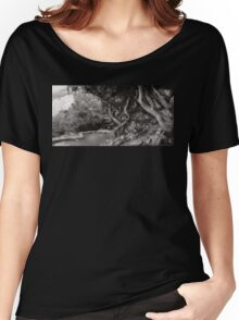 Landscape - The Forbidden Forest Women's Relaxed Fit T-Shirt
