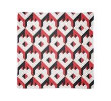 3d cube pattern - geometric design -seamless Scarf