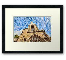 St Mary's Church, Castlegate York Framed Print
