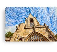 St Mary's Church, Castlegate York Canvas Print