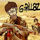 Gorillaz. by Hugh Freeman