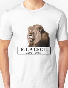 R.I.P Cecil The Lion (2002 - 2015) T-Shirt
