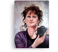 portrait of Ellen Canvas Print