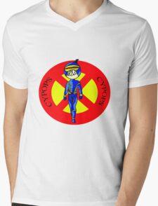 Cypops Mens V-Neck T-Shirt