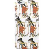 """Indonesia Traditional Puppet """"Shinta"""" iPhone Case/Skin"""