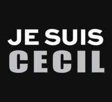 Je Suis Cecil by FAdesigns