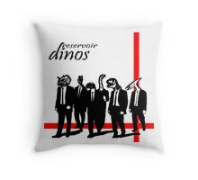 Reservoir Dinos 2 Throw Pillow
