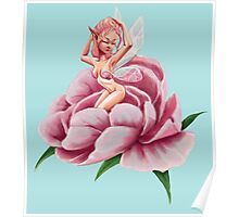 The Peony Fairy Poster