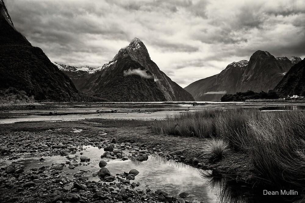 Mitre Peak - Milford Sound, NZ by Dean Mullin