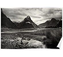 Mitre Peak - Milford Sound, NZ Poster