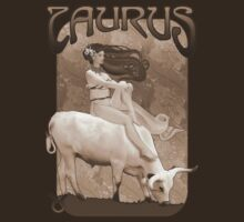 Taurus t-shirt by Ivy Izzard