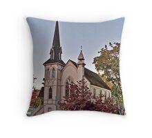 Jacksonville Presbyterian Church Throw Pillow