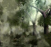 Misty Woods (IV of 4) by XadrikXu