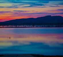 Colourful Lake Hume 4 by John Vandeven