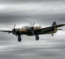 Bristol Blenheim by Nigel Bangert