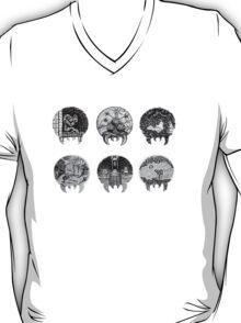 Metroid Shape Illustration T-Shirt