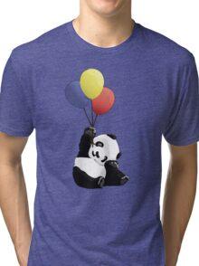 Panda's Happy Day Tri-blend T-Shirt