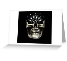 Skull with Bandana Greeting Card